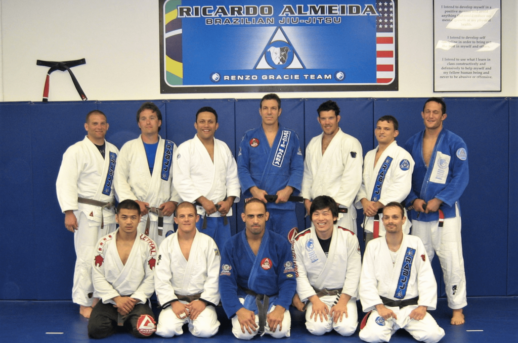 A group of martial arts students in Fort Collins, Colorado.